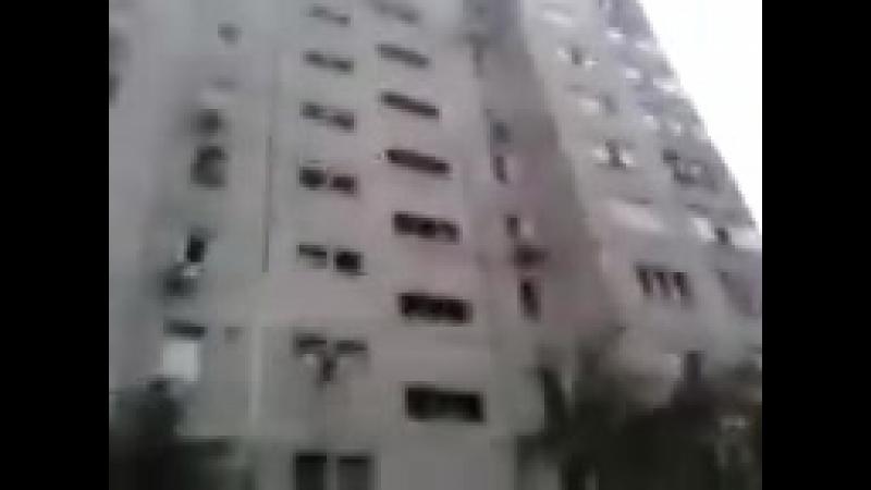 МОЙ ДОМ ПОСЛЕ АРТОБСТРЕЛА г Луганск 2014