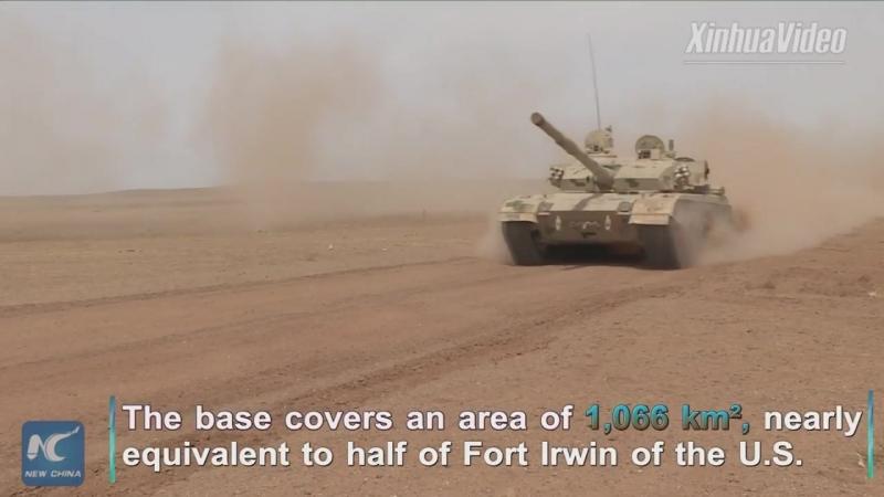 Военные учения НОАК в автономном районе Внутренняя Монголия