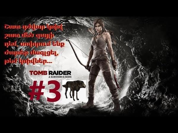 Tomb Raider 3 Շատ դժվար կռիվ շատ մեծ գայլի դեմ, սովորու