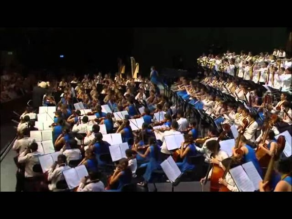 Orquesta Sinfonica Infantil Nacional de Venezuela Festival de Salzburgo agosto 2013
