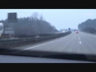 Deutsche polizei vs audi a5 - unfall ! deutsche autobahn !