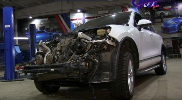 В 700 тысяч рублей обойдётся ремонт авто после ДТП с БТРами в Курске