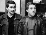 В. Высоцкий и В. Абдулов -