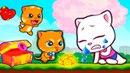 ГОВОРЯЩИЙ ТОМ БЕГ ЗА СЛАДОСТЯМИ 10 ДРУЗЬЯ Анджела Мультфильм! Мультик игра Talking Tom Candy Run