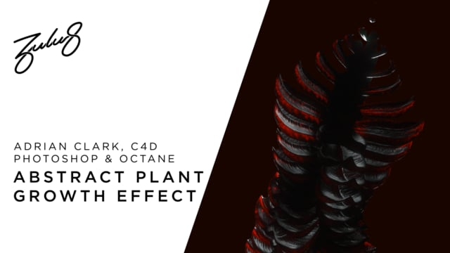 How to Animate An Abstract Plant Growth Effect in Cinema4D Octane