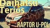 Daihatsu Terios покраска в RAPTOR U-POL