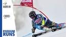 Matts Olsson Men's Giant Slalom Val d'Isère 3rd place FIS Alpine