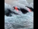 Гавайи, вулкан, лето