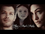 Klaus, Hayley and Hope Hold On
