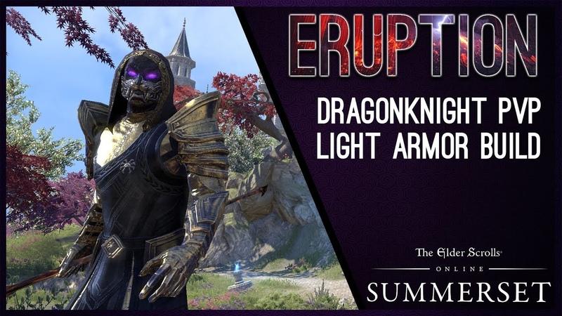 Magicka Dragonknight Burst Build Eruption - Summerset Chapter ESO