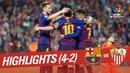 Resumen de FC Barcelona vs Sevilla FC 4-2