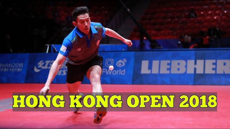 WONG Chun Ting vs HABESOHN Daniel | MS R32 | Hong Kong Open 2018