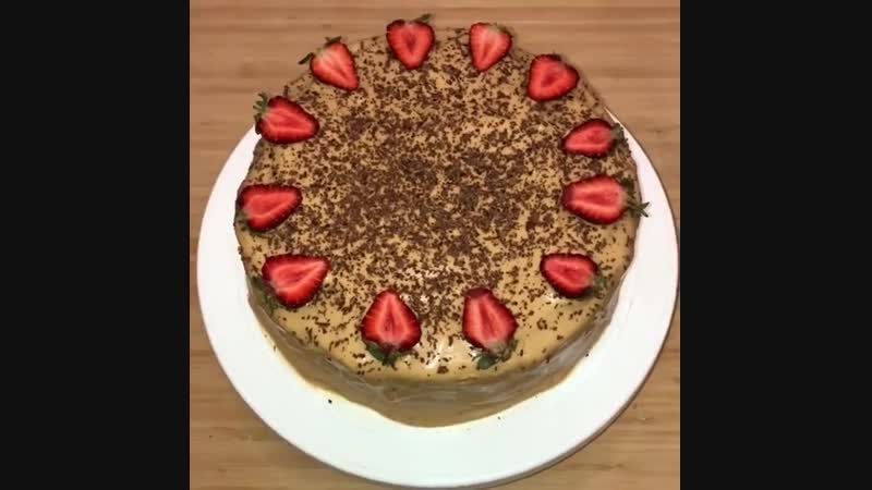 Вкусный домашний тортик