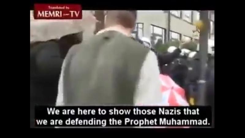 Muslime in Bonn demonstrieren für den IS