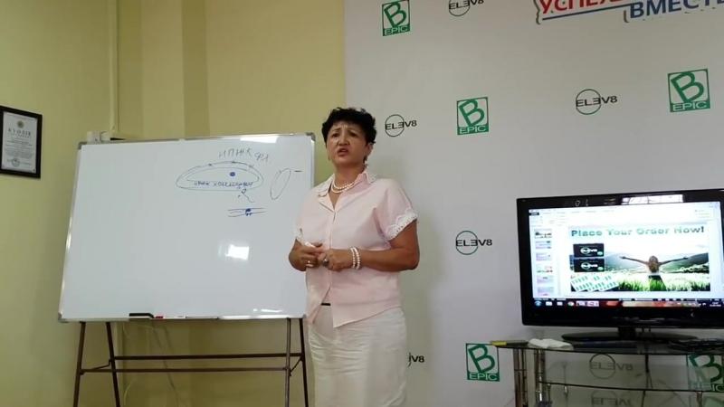 Фармацевт Иманалиева Жанар о продуктах B-Epic