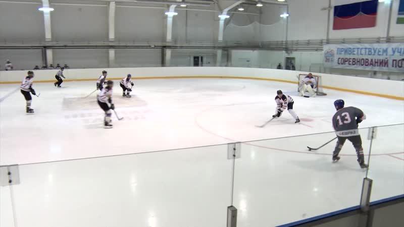 Телекон Хоккейные команды НТМК и КГОК сразились в Президентском