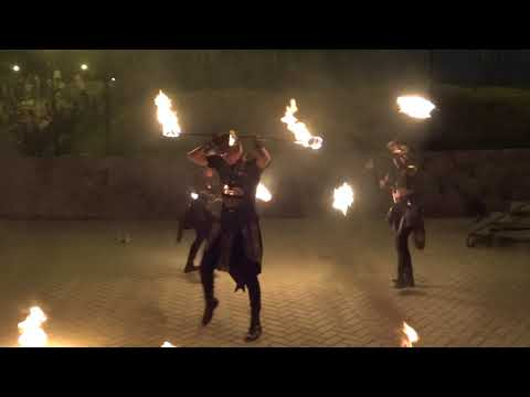 Fire show амазония 2