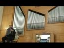 И С Бах Токката и фуга ре минор BWV 565 на баяне часть 2 Консерватория им М И Глинки Новосибирск