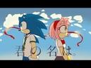 SonAmy Animation Kimi no Nawa