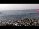 Черное море. Пляж Роза Хутор