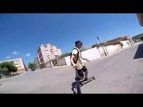 Longboarding - Sant Marti, Spain
