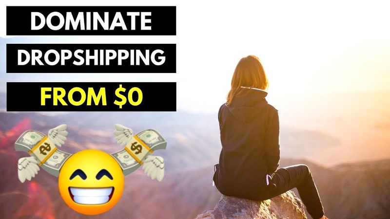 NEW Method to DOMINATE Dropshipping From $0 (step-by-step)
