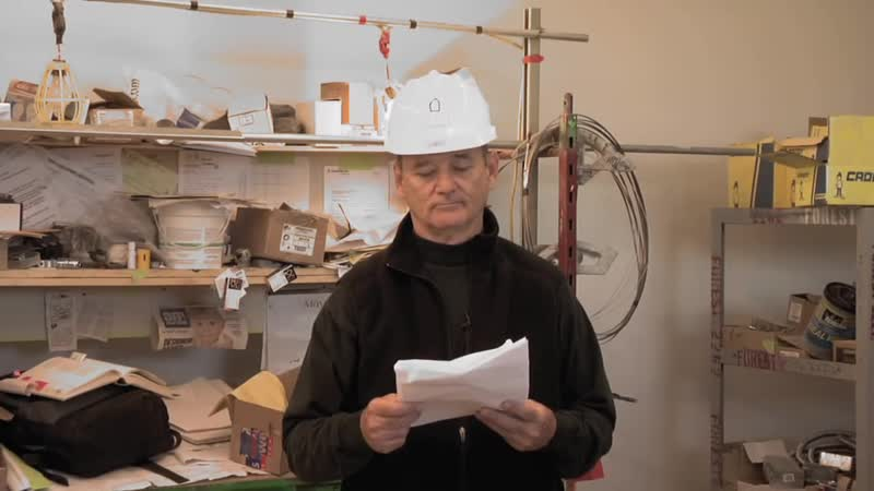 Gathering Paradise- Bill Murray Reads to Construction Workers at Poets House.mov