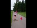Контрольная тренировка,лыжероллеры