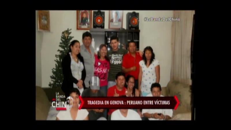 Nota - Tragedia en Genova Peruano entre victimas