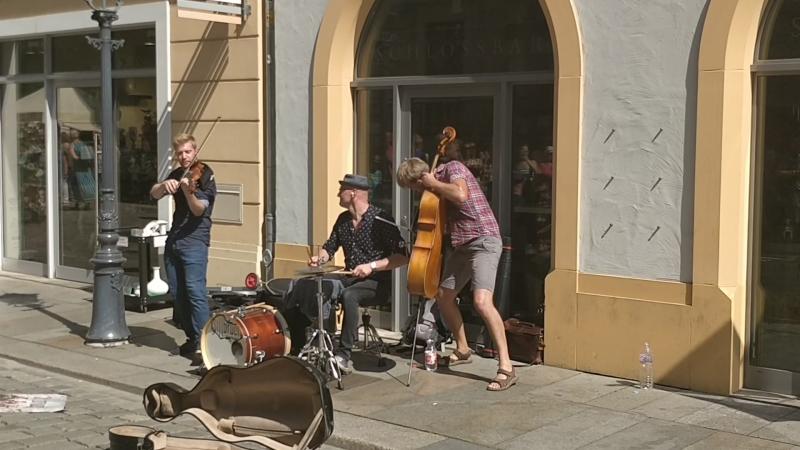 Dresden Straßen Müsik