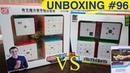 Unboxing №96 QiYi cube set VS Cubing Classroom set 2x2 3x3 4x4 5x5