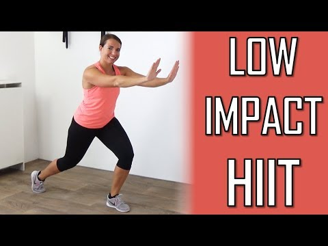 10 Minute Low Impact Fat Burning Workout HIIT Exercises with Low Impact No Equipment
