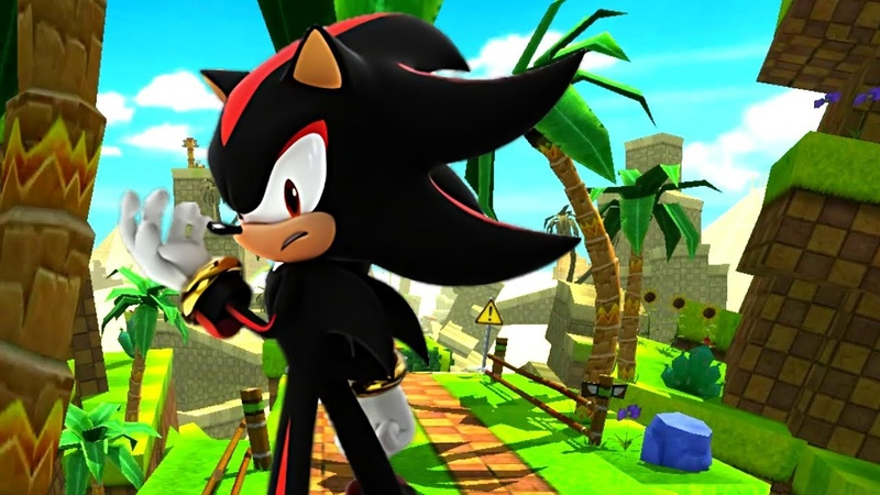 Sonic Forces Speed Battle Shadow gameplay (HD Widescreen)