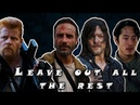 Rick/Daryl/Glenn/Abraham | Leave Out All The Rest - Linkin Park | TWD (Music Video)