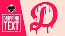 Inkscape Tutorial: Dripping Text Effect