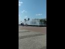 танцующие фонтаны на пл.Ленина