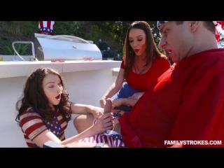 Threesome Sex - Mom And Stepson Sex - Ariella Ferrara And Jennifer Jacobs