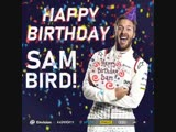 Happy Birthday Sam Bird! What do you think Sams wishing for this weekend MarrakeshEPrix ABBFormulaE