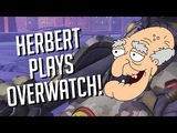 HERBERT The PERVERT Plays OVERWATCH! Soundboard Pranks in Competitive!