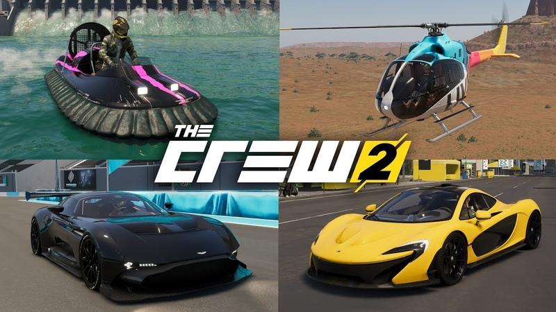 The Crew 2 - Выиграл все уникальные тачки и победил всех чемпионов!