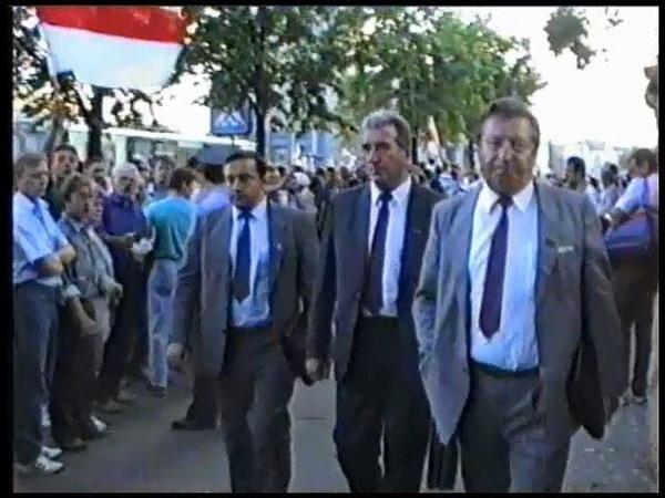 Шлях да незалежнасьці. 24 жніўня 1991. Частка 3