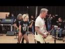 Metallica u0026 Lady Gaga Pre Grammy Rehearsal