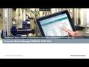 Вебинар Сименс: PDM и интеграция интеллектуальных датчиков, станция обслуживания SIMATIC PCS7