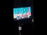 FANCAM 180805 EXO-CBX Singing Birthday Song for EXO-L @ EXO-CBX Fan Event