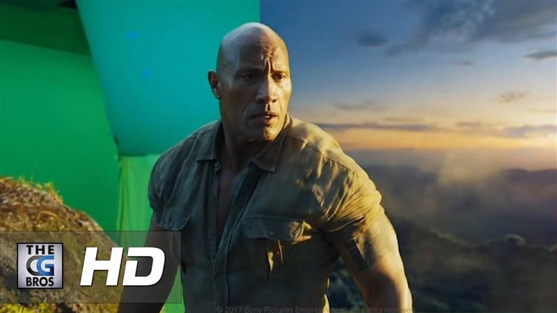 CGI VFX Breakdowns: Jumanji: Welcome to the Jungle VFX breakdown - by MPC