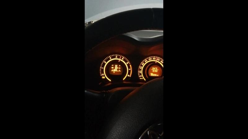 🇯🇵Toyota Corolla E150 на роботе🇯🇵 Проверка переключения передач. Режим E