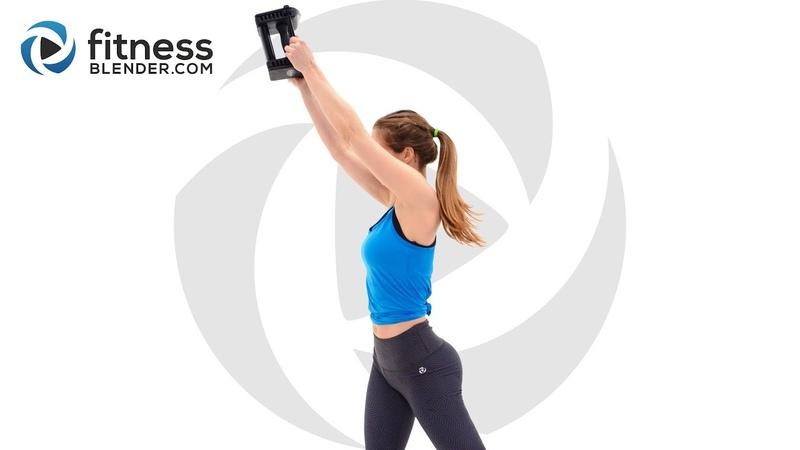 FitnessBlender - Upper Body Workout for Arms, Shoulders, Chest Back   Силовая тренировка для верха (руки, грудь, плечи)