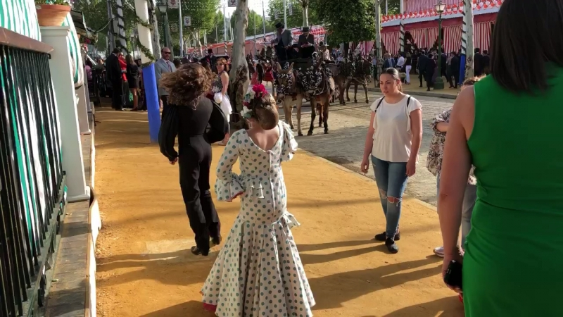 Feria de Abril 2018. En Sevilla.