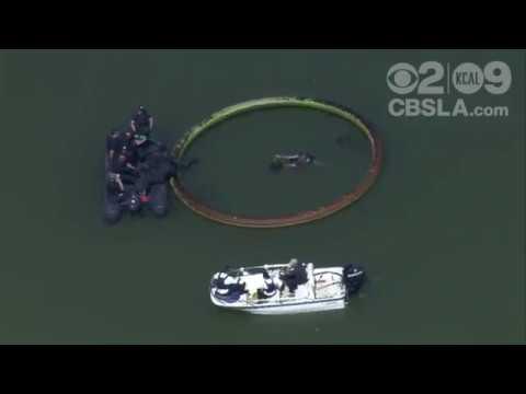 WATCH LIVE MacArthur Park Lake Suspect Search LAPD