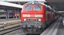 Deutsche Bahn 2x BR 218 ● EC 190 München Hbf ► Zürich HB ● München Hbf